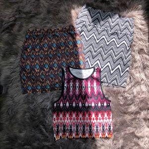 Dresses & Skirts - Skirt and crop top bundle 📦